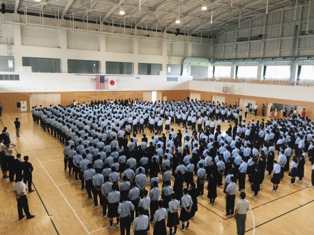 Image result for Japanese students Assembly